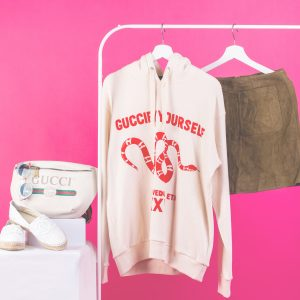 """Guccify Yourself"" Print Sweatshirt"