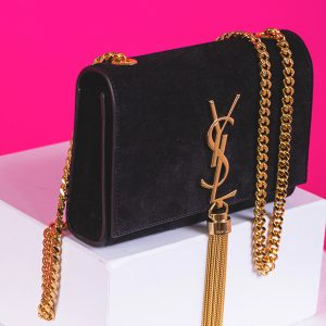 Kate Medium with Tassel in Suede