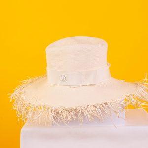 Andre Fringed Panama Straw Hat