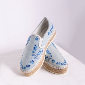 Embroidered Dior Prairie Espadrillas