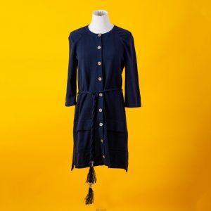 Chanel Navy Blue Cardigan