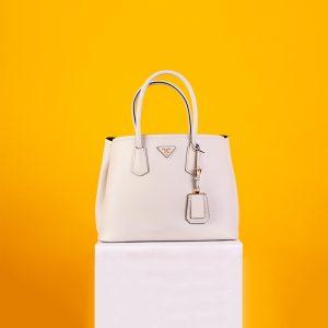 Prada Saffiano Cuir Medium Tote Bag