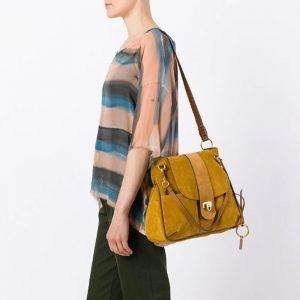 Lexa Crossbody Bag Suede