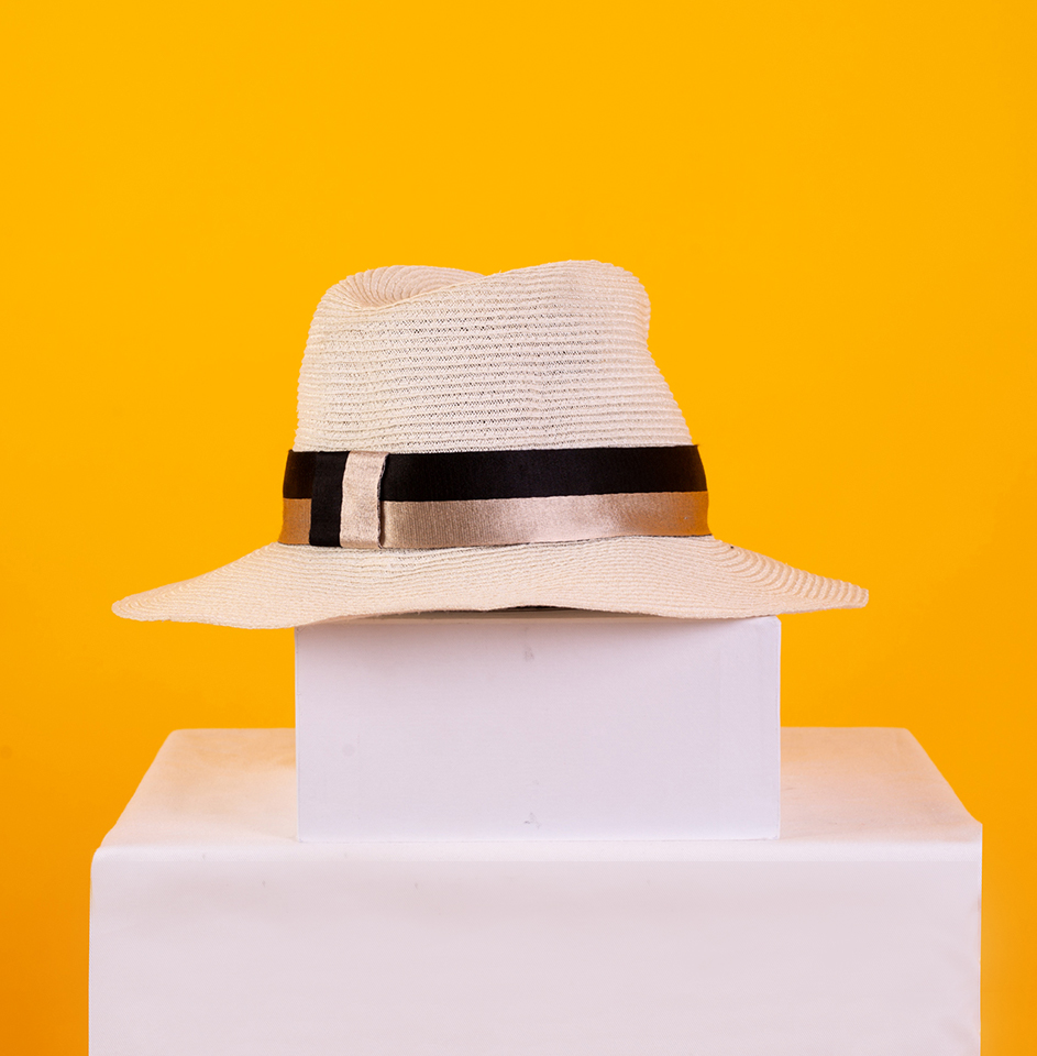 Maison Michel Andre Natural Straw Hat