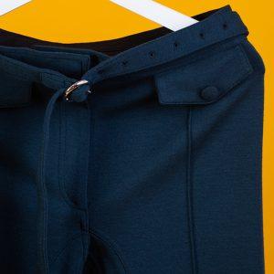 Céline Belt Wool Pants