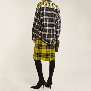 Balenciaga Plaid Shirt