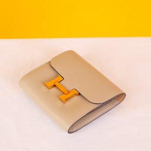 Hermes Constance Compact Wallet