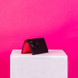 Chanel Grander Wallets Purse Bon Line Two Fold Wallet