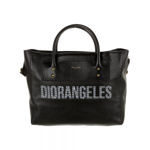 Christian Dior Diorangeles Leather Tote