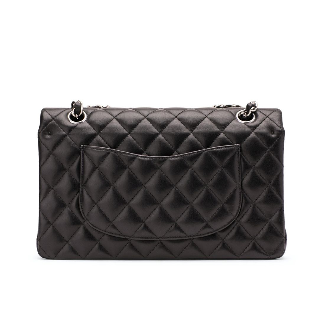 Classic Double Flap Bag in Silver Hardware