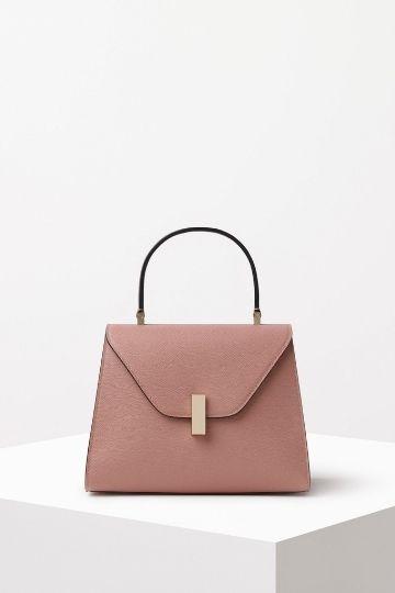 Valextra Iside Gioiello Mini Bag- Rosa Polvere