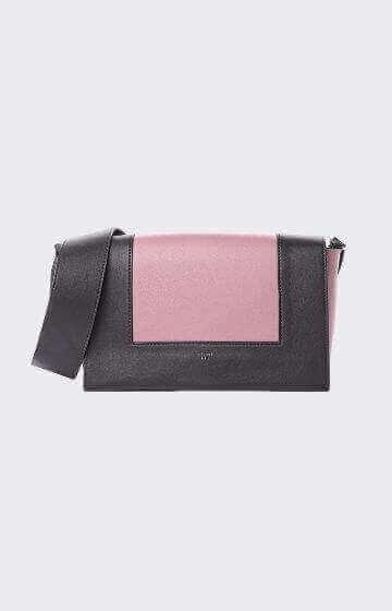 Celine Medium Frame  Shoulder Bag Antique Rose